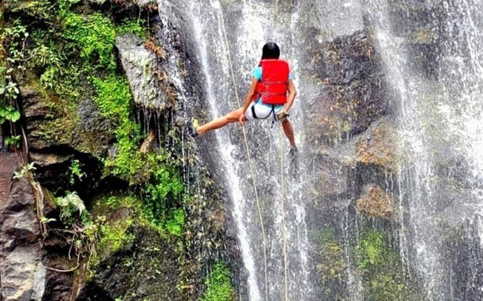 Diksal Waterfall Rappelling Information