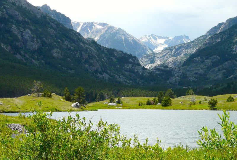 Mystic Trail beside Dhom Lake
