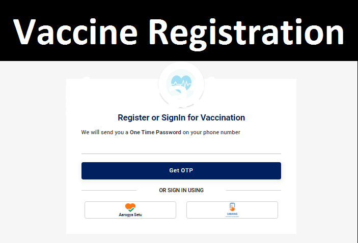 Covid Vaccine registration link