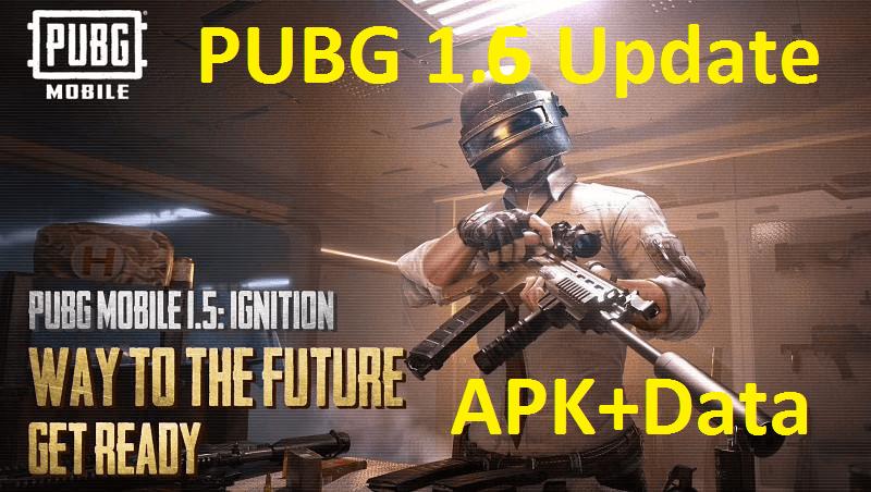 PUBG 1.6 update