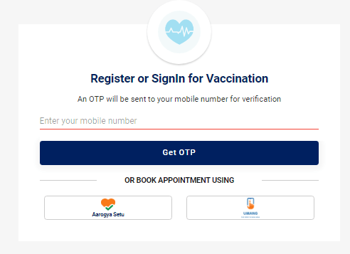 Vaccine Certificate correction login