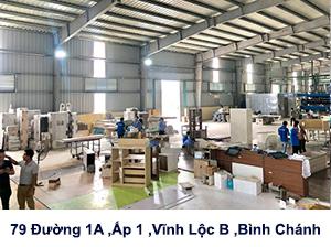 Xưởng nội thất HTTL ở HCM