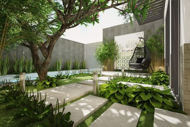20 Típ thiết kế sân vườn nhỏ đẹp siêu tiết kiệm ✓ [2021]