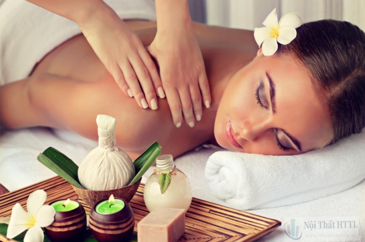 Tạo mùi hương dịu nhẹ cho không gian nội thất spa