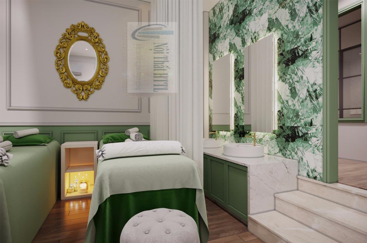 trang trí không gian spa tại nhà độc đáo