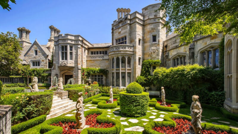 Thiết kế cảnh quan sân vườn theo phong cách châu Âu