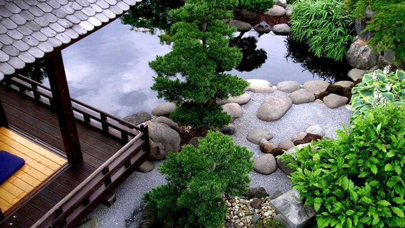 Thiết kế cảnh quan sân vườn theo phong cách Nhật Bản