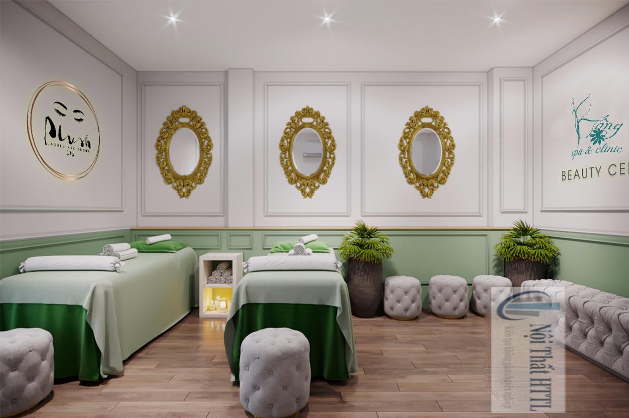 trang trí không gian spa tại nhà đơn giản