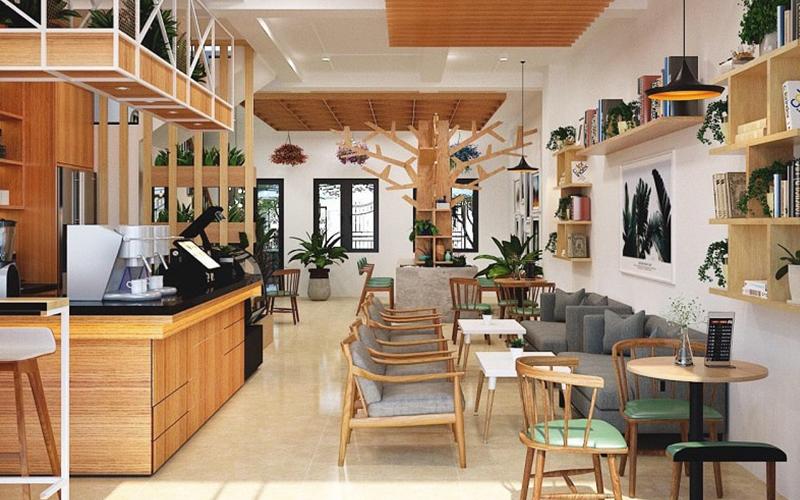 Quán cafe nhỏ cần được thiết kế đẹp mắt để thu hút khách hàng