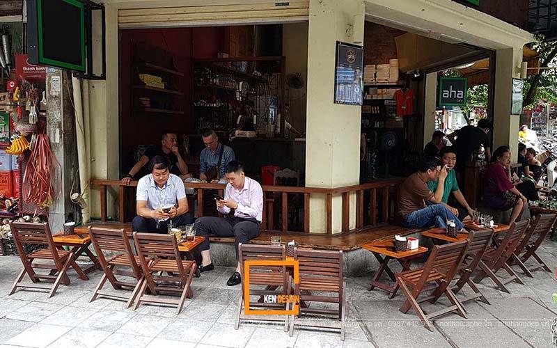 Cafe cóc - mô hình cafe quen thuộc với người Việt