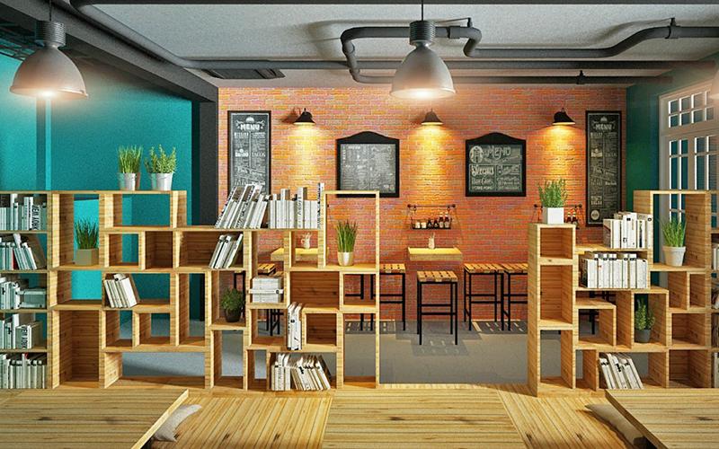 Cafe sách dành cho những người yêu sách